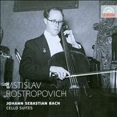 J.S. Bach: The 6 Cello Suites [1955] / Rostropovich