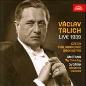 V&#225;clav Talich: Live 1939