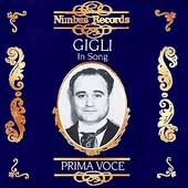 Prima Voce - Gigli in Song