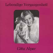 Lebendige Vergangenheit - Gitta Alpar