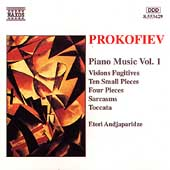 Prokofiev: Piano Music Vol 1 / Eteri Andjaparidze