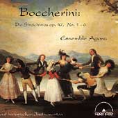 Boccherini: String Trios Op 47 no 1-6 / Ensemble Agora