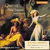 Quantz: Flute Sonatas / Brown, Johnstone, Caudle