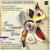 Four Icelandic Orchestral Works / Petri Sakari, Iceland SO