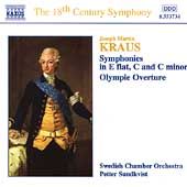 The 18th Century Symphony - Kraus: Symphonies Vol 1