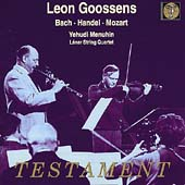 Bach, Handel, Mozart: Oboe Concertos / Goossens, et al