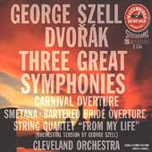 HERITAGE  Dvor&#225;k: Symphonies no 7-9, etc / Szell, Cleveland