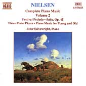 Nielsen: Complete Piano Music Vol 2 / Peter Seivewright