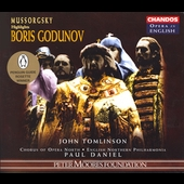 Opera in English - Mussorgsky: Boris Godunov / Daniel, et al