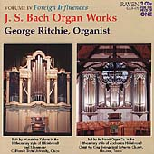 J.S. Bach: Organ Works Vol 4 - Foreign Influences / Ritchie