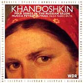 Khandoshkin: Folk Songs in the Russian Salon / Pasiechnyck