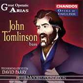 Opera in English - Great Operatic Arias Vol 6 / Tomlinson