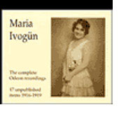 Maria Ivog&#252;n - The Complete Odeon Recordings