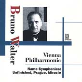 Bruno Walter - Vienna Philharmonic - Name Symphonies