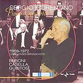 Sergio Fiorentino, unreleased recordings - Piano Concertos