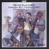 Villa-Lobos: Symphony no 7, etc / St. Clair, Stuttgart Radio