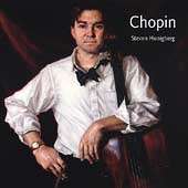 Chopin: Polonaise, Cello Sonata, etc / Steven Honigberg