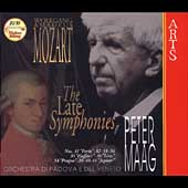 Mozart: The Late Symphonies /  Maag
