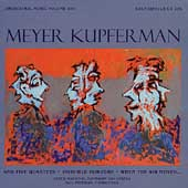 Orchestral Music of Meyer Kupferman Vol 17