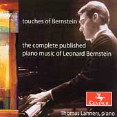 Touches of Bernstein - The Complete Published Piano Music