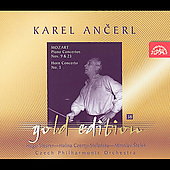 Ancerl Gold Edition 38 - Mozart: Concertos / Steurer, et al
