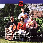 Mendelsohn, Schumann / Quatour Florestan