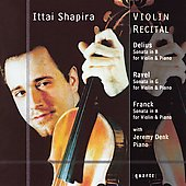 Violin Recital / Ittai Shapira, Jeremy Denk