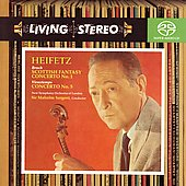 Bruch, Vieuxtemps: Concertos / Heifetz, Sargent, et al