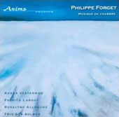 Philippe Forget: Chamber Music: Cello Suites 1&2; Vents d'Yver; Canaa et al. / Agnes Vesterman, cello; Olivier Chauzu, piano