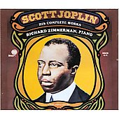 Richard Zimmerman (Piano): Scott Joplin: His Complete Works [Box]
