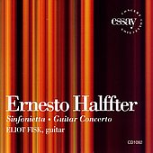 Halffter: Sinfonietta, etc / Eliot Fisk, et al