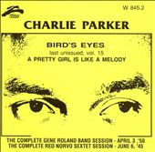Charlie Parker (Sax): Bird Eyes, Vol. 15