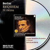 Berlioz: Requiem Op.5, Te Deum Op.22