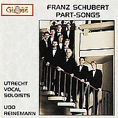 Schubert: Part-Songs / Udo Reinemann, Ronald Brautigam