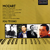 Mozart: Fantasia K 475, Piano Sonatas, etc / Fou Ts'ong