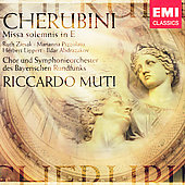 Cherubini: Missa Solemnis in E / Muti, et al