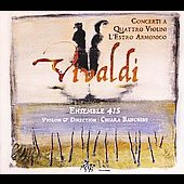 Vivaldi: Concertos for 4 Violins from L'estro Armonico