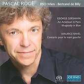 Gershwin: An American in Paris, etc;  Ravel / Rogé, Billy, Vienna RSO
