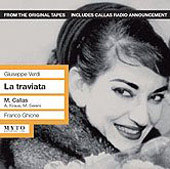 Verdi: La Traviata / Ghione, Callas, Kraus, Sereni, Zanini, et al