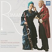 Romanza - Hummel, Weber, Lachner: Works for Trumpet, Hunting Horn and Bassoon / Few, et al