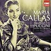 Maria Callas - The Complete Puccini Studio Recordings