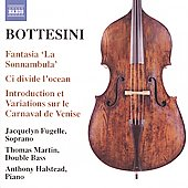 Bottesini: Fantasias, etc / Thomas Martin, Anthony Halstead, et al