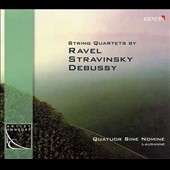 String Quartets of the Early 20th Century