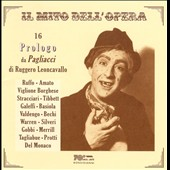 16 Prologo da Pagliacci di Ruggero Leoncavallo