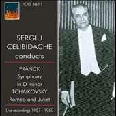 Sergiu Celibidache conducts Franck, Tchaikovsky
