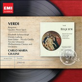 Verdi: Requiem; Four Sacred Songs / Schwarzkopf; Gedda; Baker; Ludwig; Ghiaurov