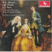 Chamber music with oboe by W.A. Mozart, J.M. Haydn, J.C. Bach / Alessandro Baccini, oboe & English horn