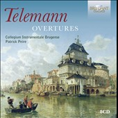 Telemann: 33 Overtures (Orchestral Suites) / Collegium Instrumentale Brugense