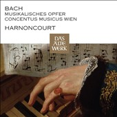 J.S. Bach: Musical Offering / Nikolaus Harnoncourt, Concentus Musicus Wien