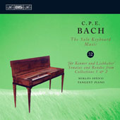 C.P.E. Bach: The Solo Keyboard Music, Vol. 32 - Sonatas 1,4 & 6, Ronos 1,2 & 3 / Miklos Spanyi, Tangent Piano
